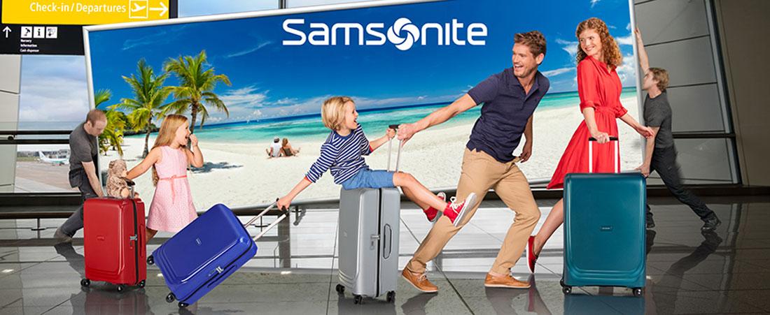 Samsonite Outlet Shopping Markenpräsentation im Ochtum Park Bremen